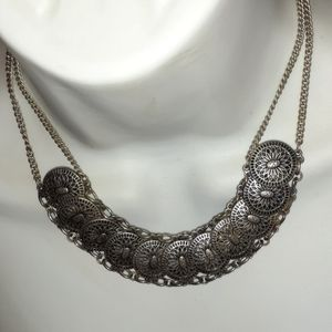 Vintage Necklace Pot Metal